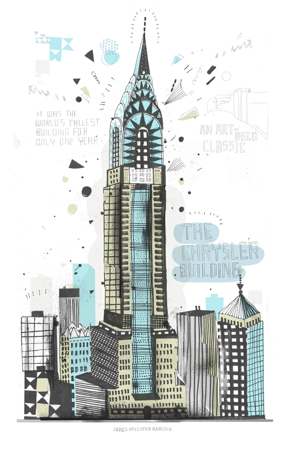 1000x1539 One Man's Quest To Draw 900,000 Buildings In New York City