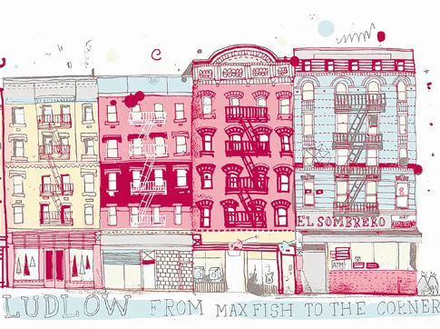 485x362 Brooklyn Artist Plans To Sketch All 9,000 Nyc Buildings Daily