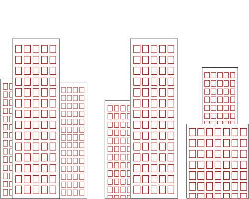 502x402 A Cartoon Building