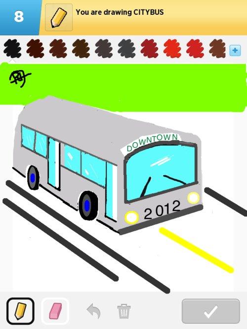 500x667 Citybus Drawings
