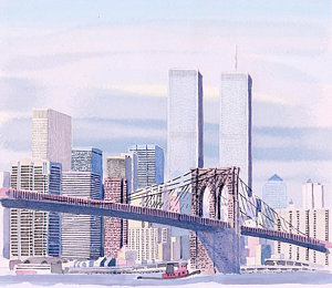 300x260 New York City Landscape Drawings