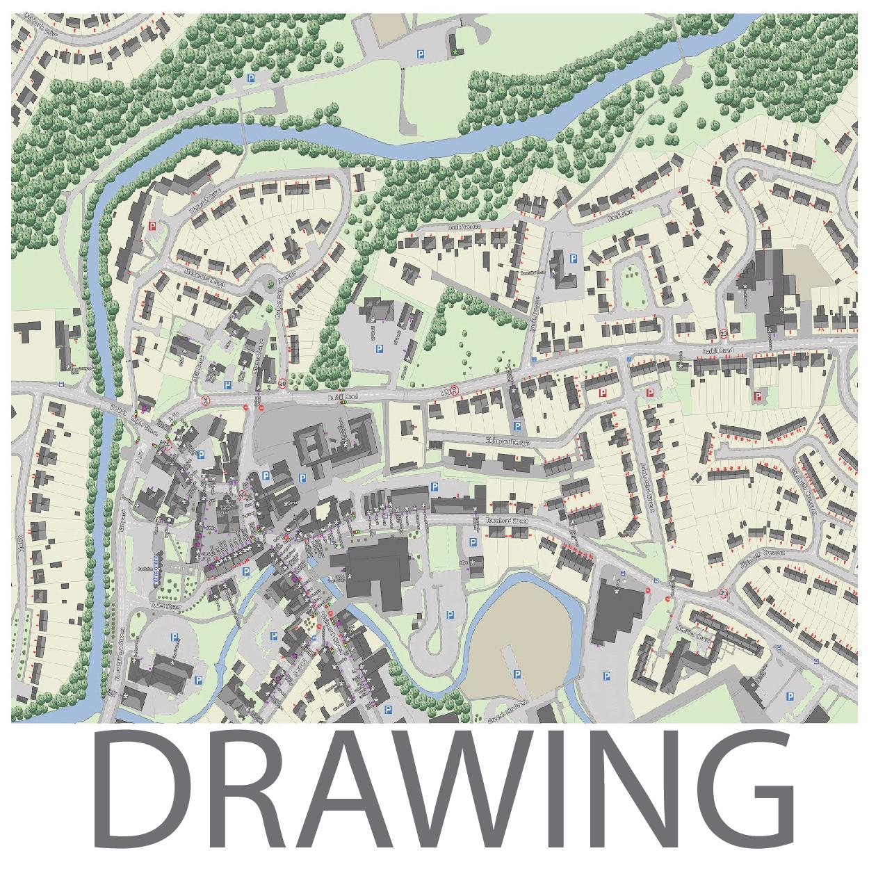 1250x1250 Drawing The Existing City Udsu