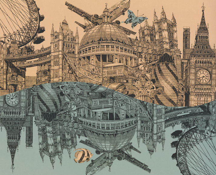 714x579 London And Brighton Cityscapes