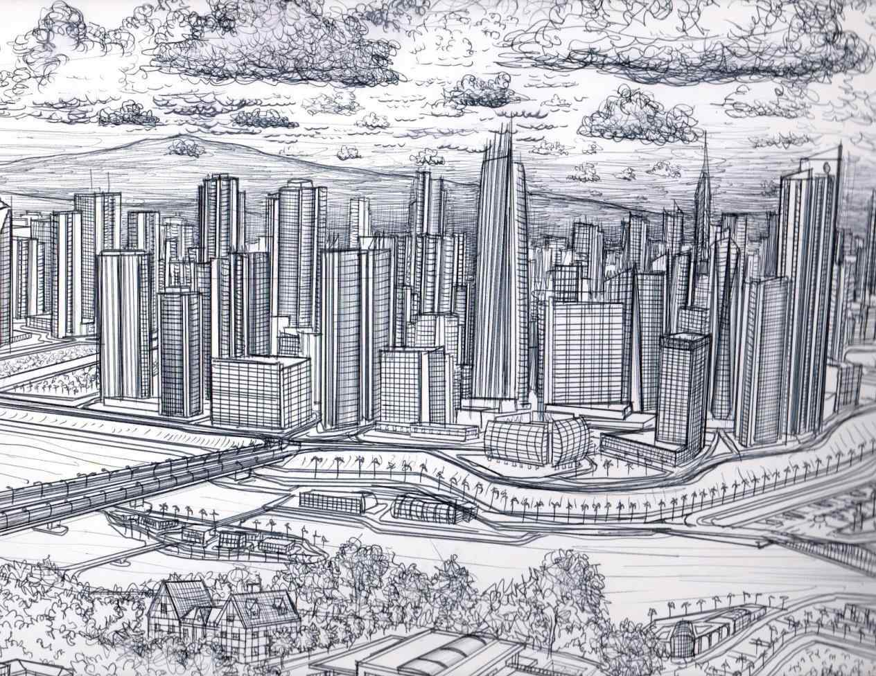 1264x976 More About Architecture Drawing City Update