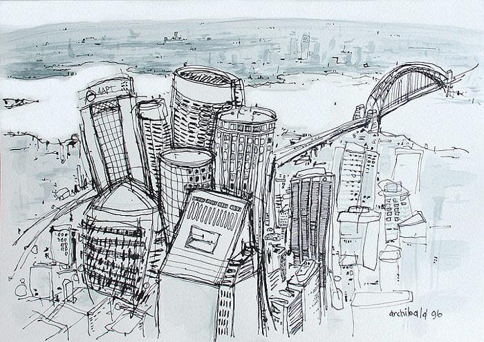 700x496 Sydney Cityscape