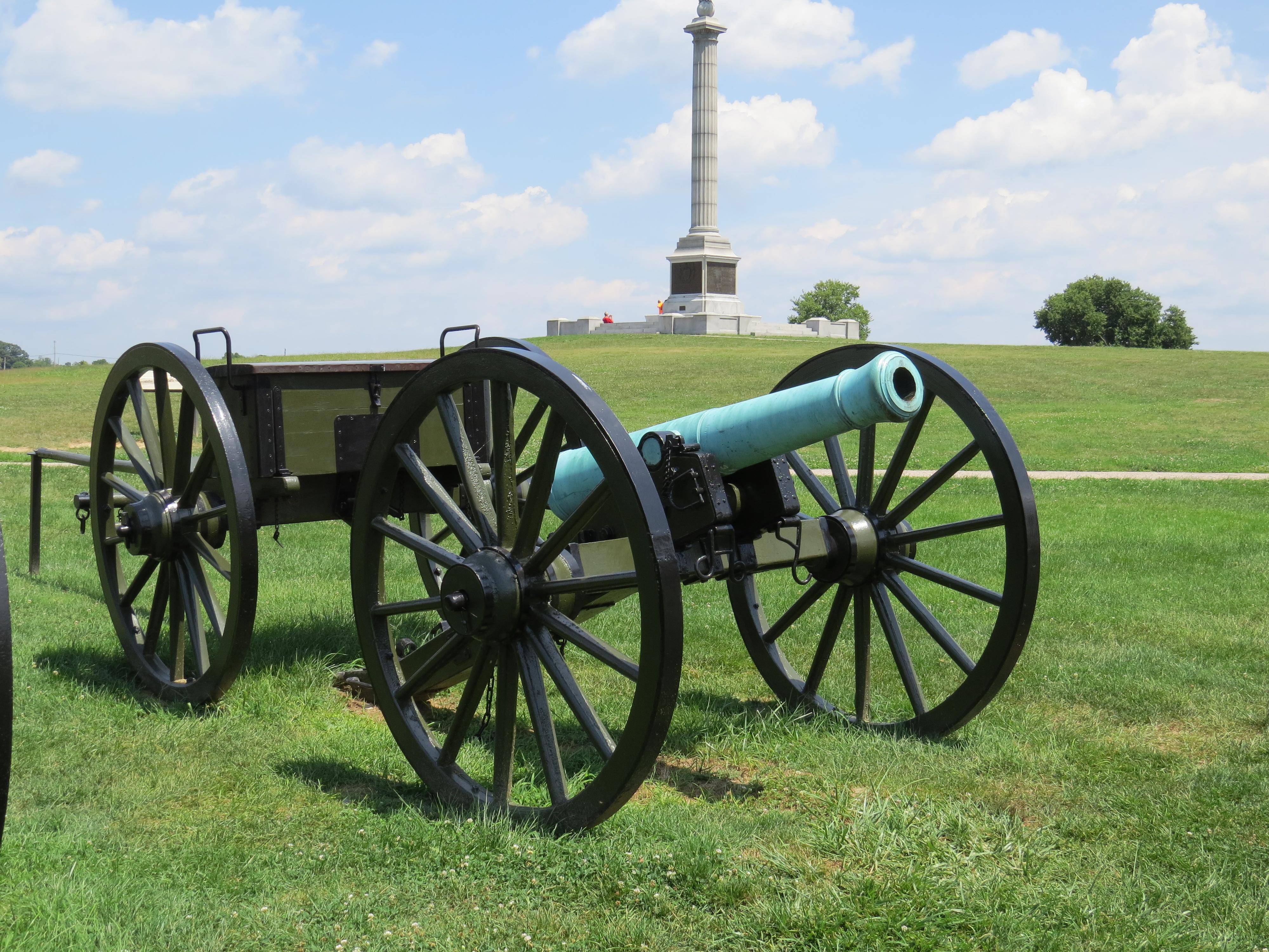 4000x3000 Civil War Artillery Was A Powerful Force During Battle