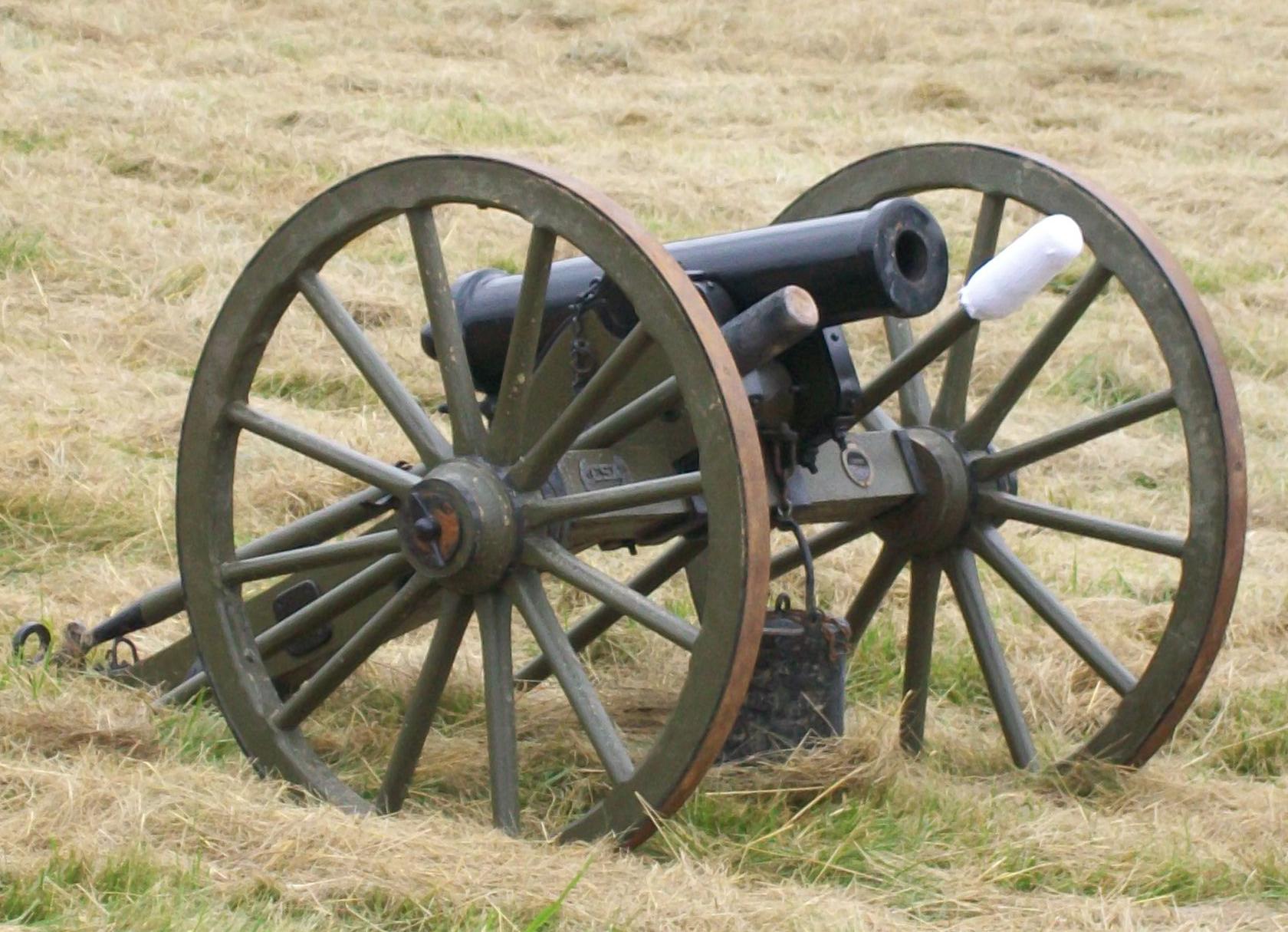 1680x1215 Fileamerican Civil War Era 12 Lb Howitzer Cannon Used In