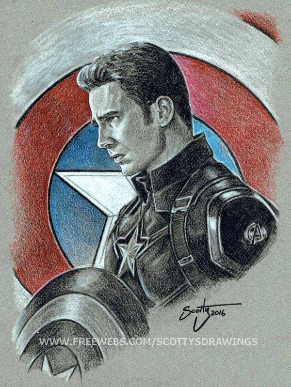 600x799 Captain America