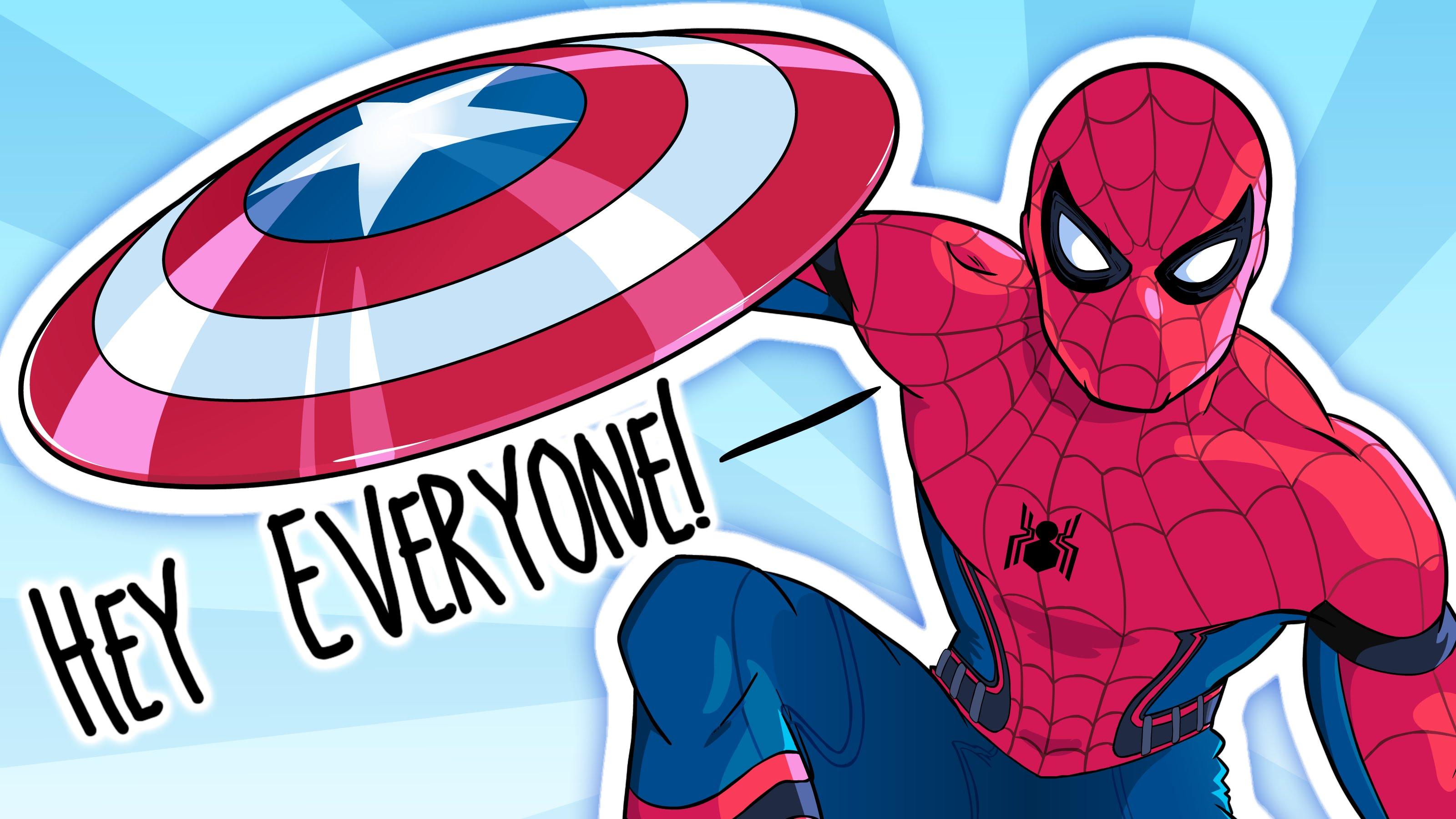 3200x1800 Civil War Spider Man