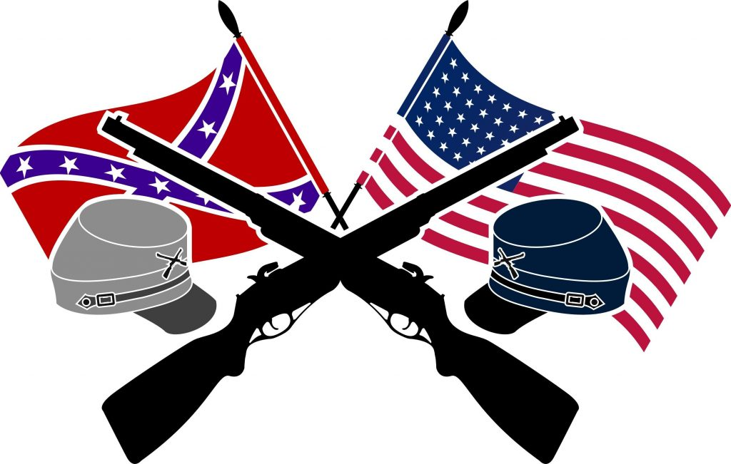 1024x651 Top 10 Best Hd American Civil War Free Clipart Drawing Pictures