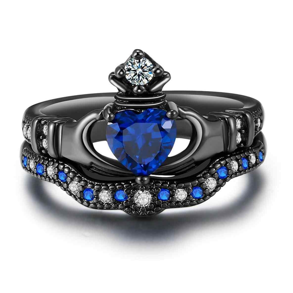 1185x1185 Claddagh Ring Drawing