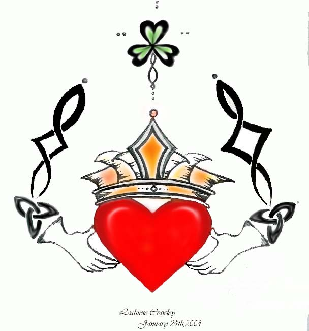 Claddagh Ring Drawing At Getdrawings Free For Personal Use