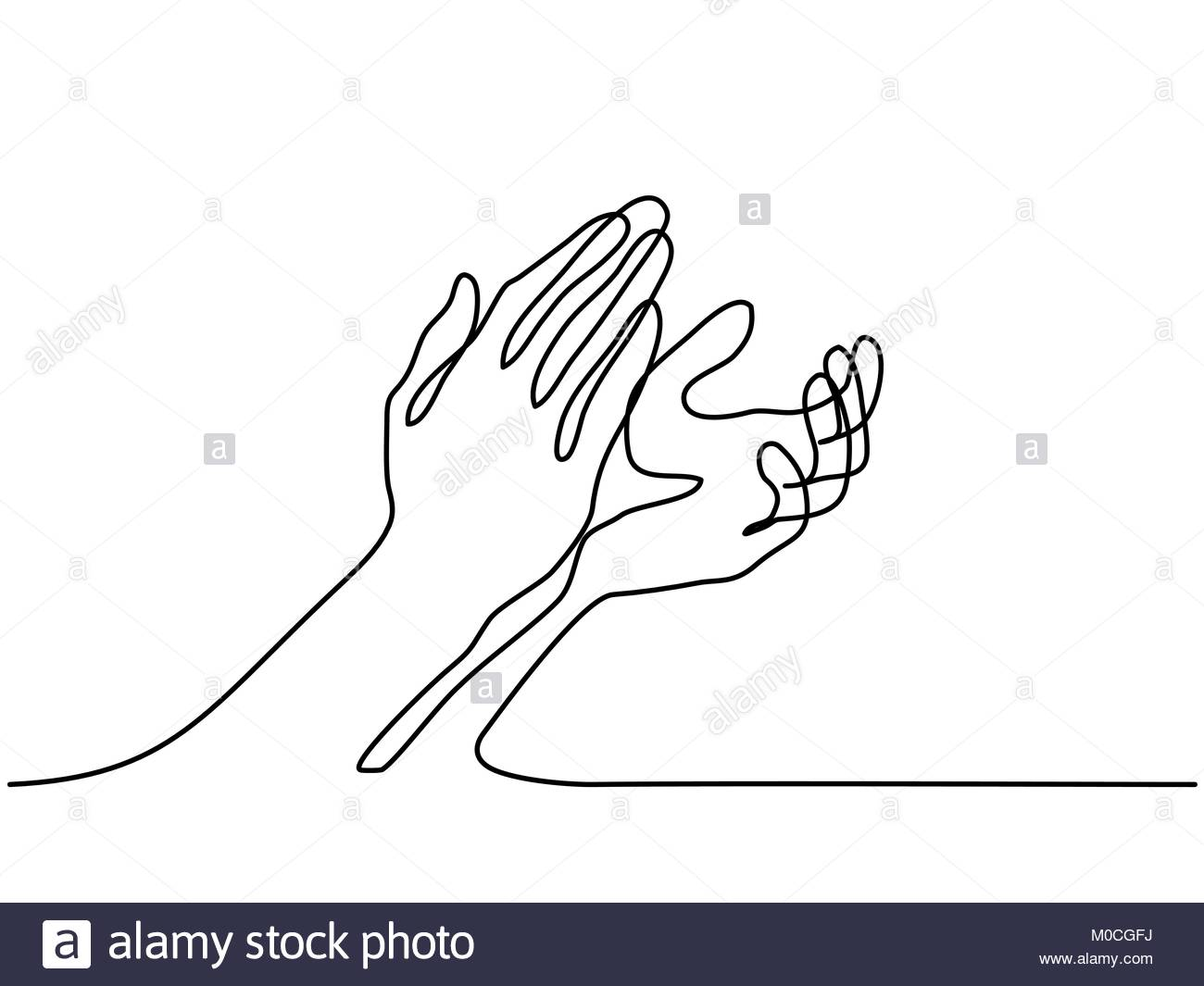 1300x1065 Vector Illustration Clapping Hands Stock Photos Amp Vector