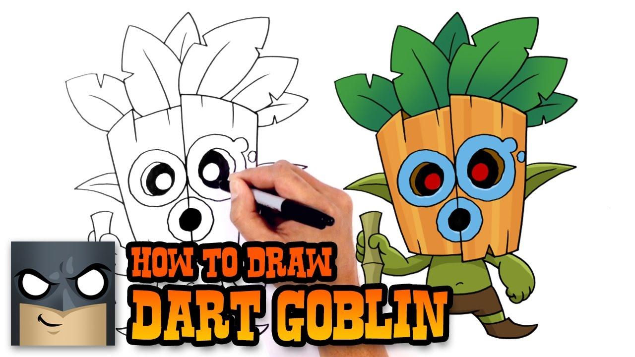 1280x720 How To Draw Dart Goblin Clash Royale