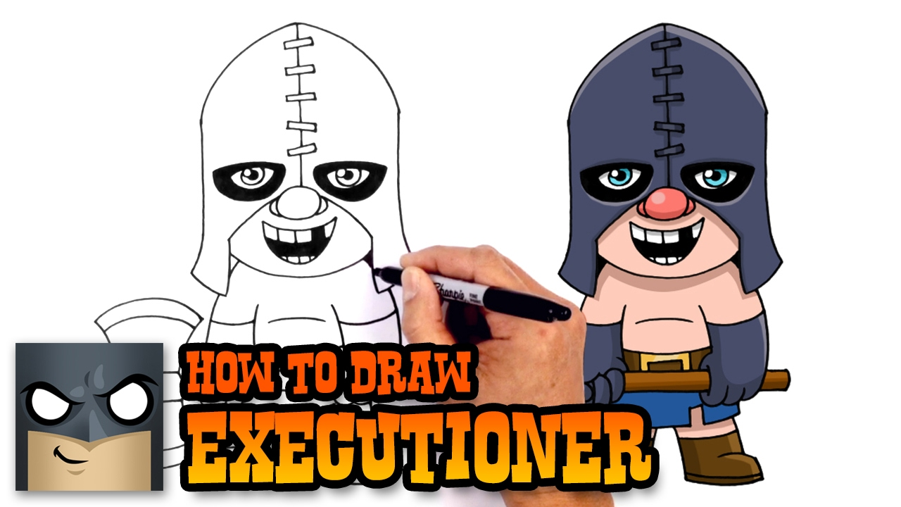 1280x720 How To Draw Executioner Clash Royale
