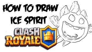 320x180 How To Draw Ice Spirit (Clash Royale)
