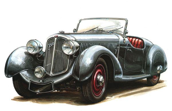 600x387 Vintage Car Cars