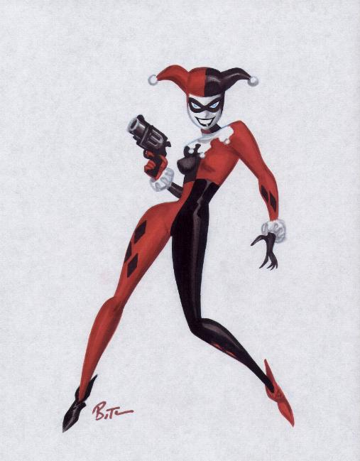 507x649 Harley Quinn Original And Limited Edition Art