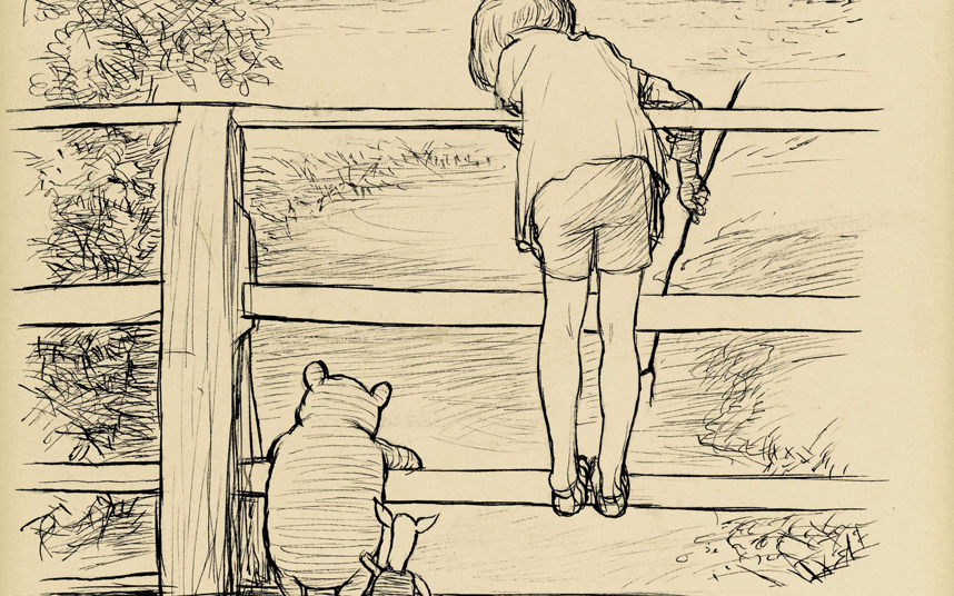 858x536 Classic Winnie The Pooh Drawing Sells For More Than