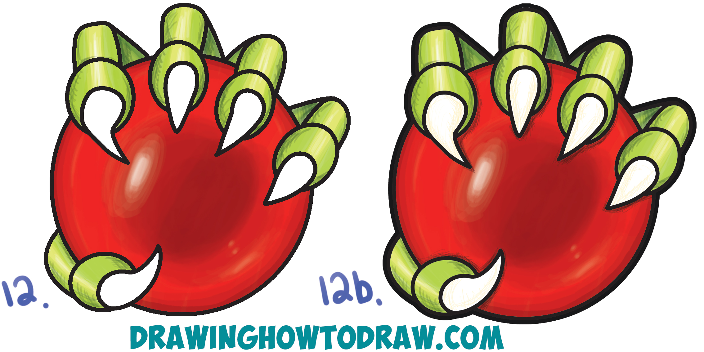 2269x1135 How To Draw A Dragon's Claw Holding A Glass Ball Easy Step By Step