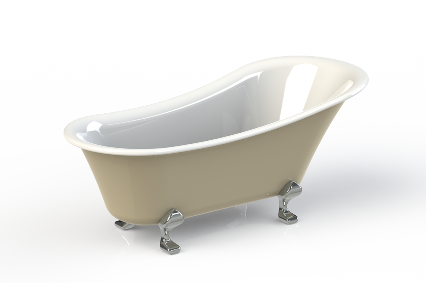 Clawfoot Tub Drawing at GetDrawings.com | Free for personal use ...