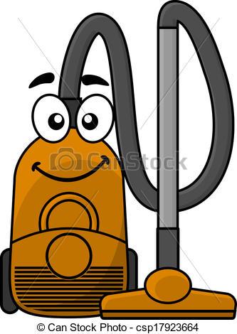 333x470 Cute Cartoon Vacuum Cleaner. Cute Cartoon Domestic Vacuum Clip