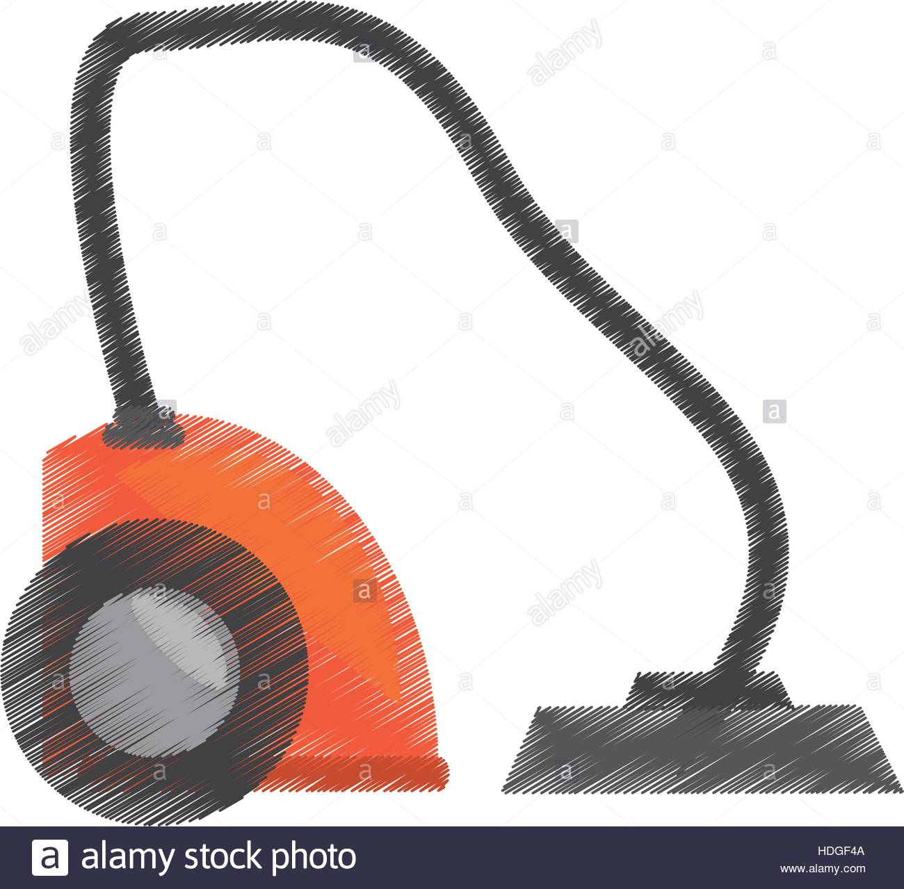 1300x1279 Drawing Modern Vacuum Cleaner Appliance Vector Illustration Eps 10