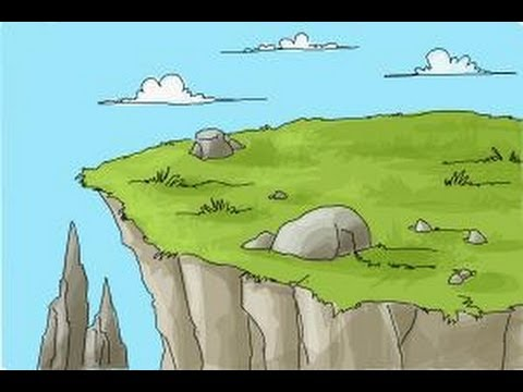 480x360 How To Draw A Cliff