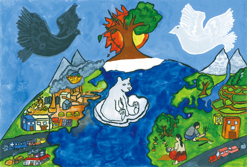 500x338 2011 World Habitat Day Children's Drawing Contest Our Cities, Our