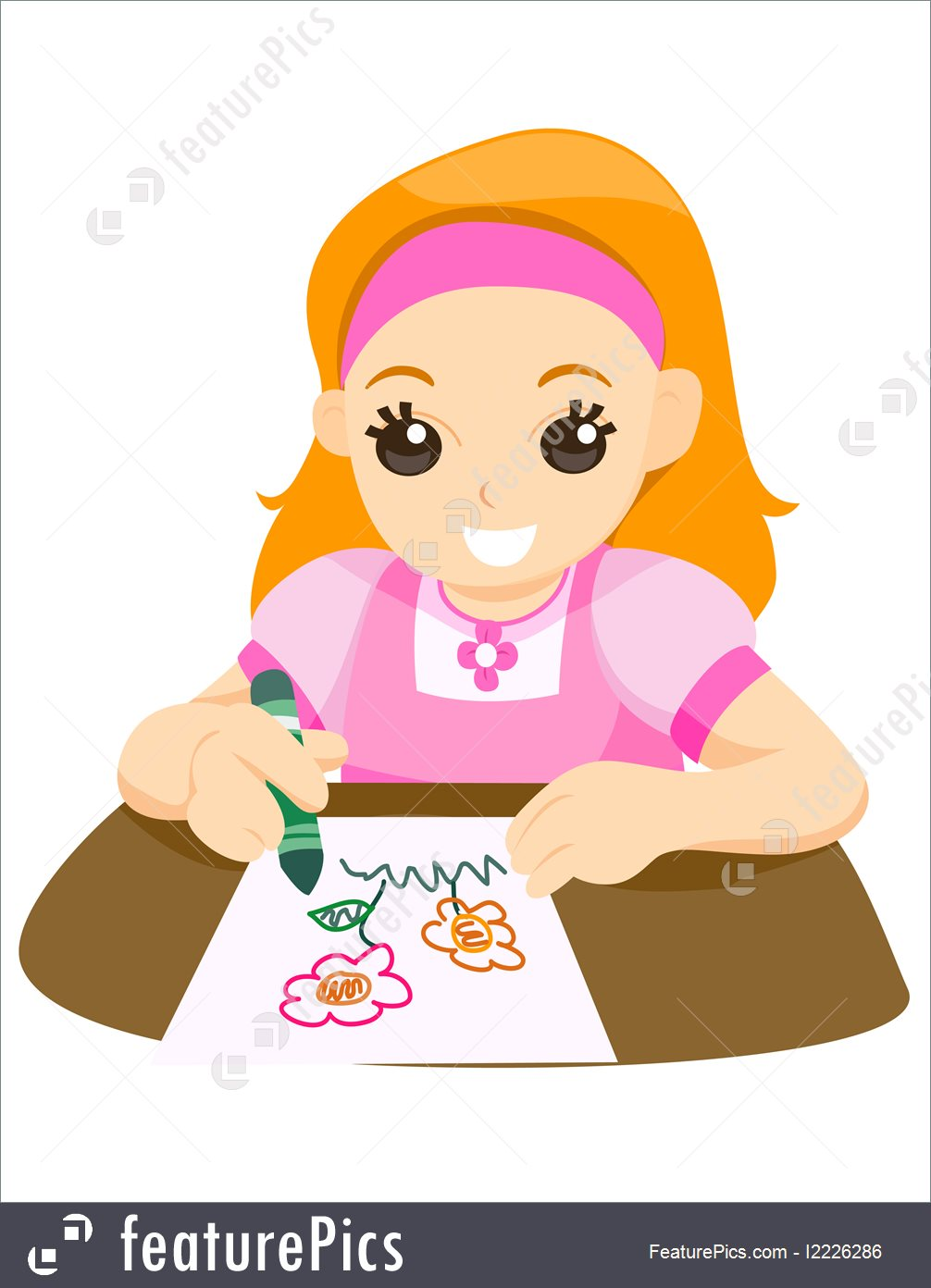 Clip Art Child Drawing at GetDrawings.com | Free for personal use ...