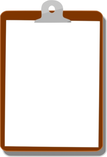 408x597 Clipboard Clip Art Free Vector In Open Office Drawing Svg ( Svg