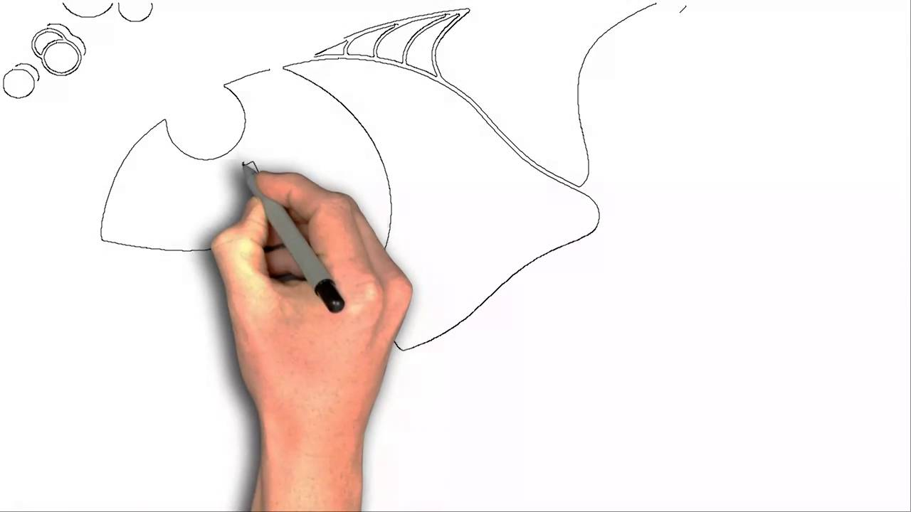 1280x720 How To Draw Fish Clipart Cartoon Drawing
