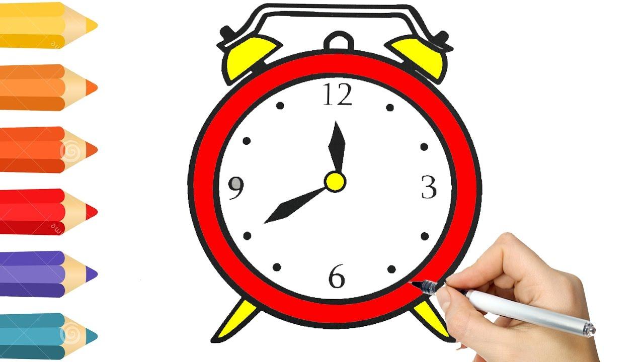 Clock Drawing at GetDrawings.com | Free for personal use Clock ...