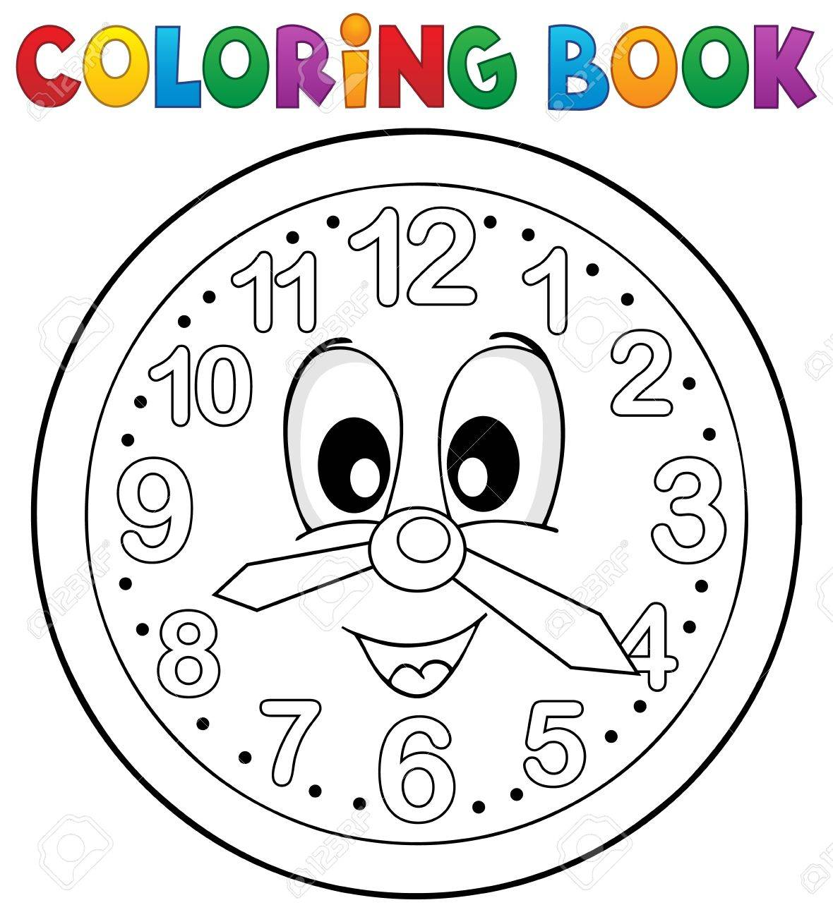 1180x1300 Clock Drawing Stock Photos. Royalty Free Business Images