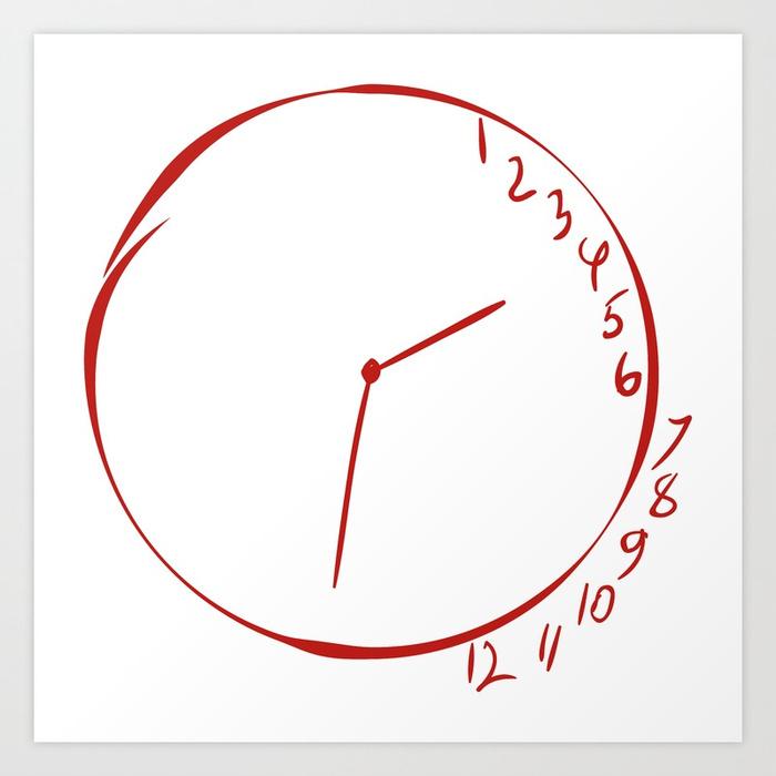 700x700 Will Graham Clock Drawing