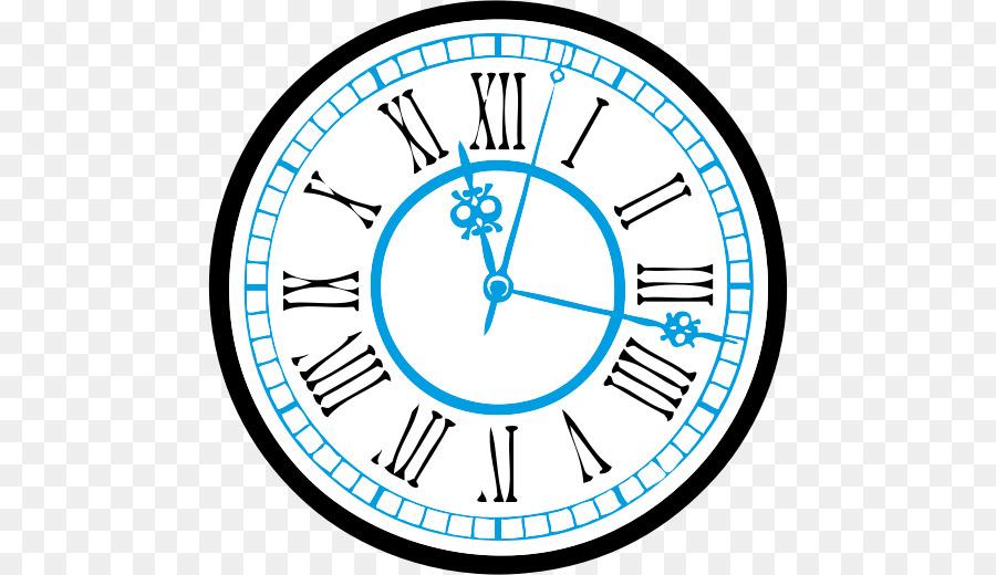 900x520 Clock Face Drawing Clip Art