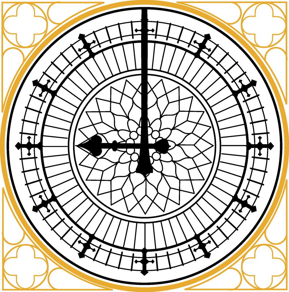 1015x1024 Big Ben Decal Of Big Ben Clock Face Svg Source Available