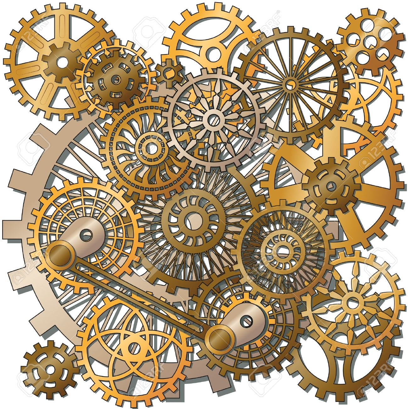1300x1300 Clock Gear Cliparts, Stock Vector And Royalty Free Clock Gear