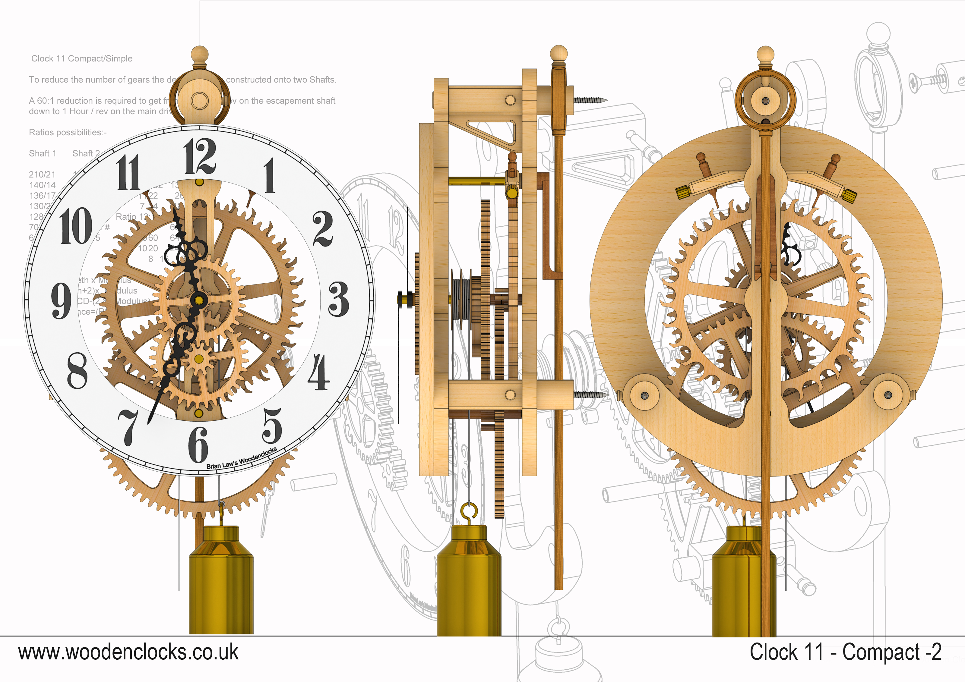 Clock Gears Drawing At Getdrawings Com Free For Personal