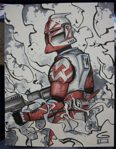 400x513 C2e2 Sketch Clone Trooper By Grantgoboom