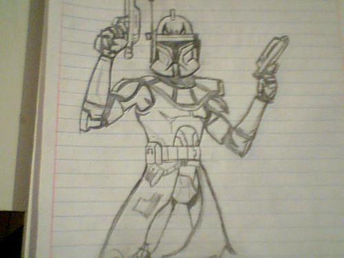 500x375 Clone Trooper Draw