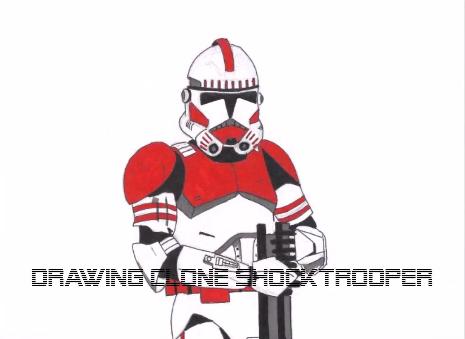 1482x1080 Drawing Clone Shock Trooper