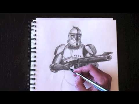 480x360 Drawing A Clone Trooper With Paolo Morrone