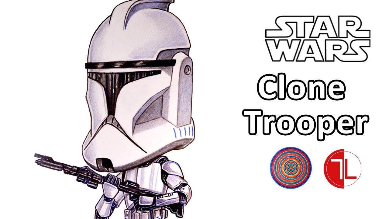 1280x720 Star Wars Clone Trooper Caricature