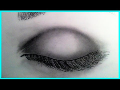 480x360 how to draw a closed eye realistic colored pencil facial