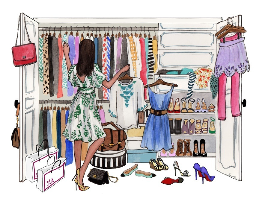 Awesome 874x682 Closet Drawing Draw Pinterest Illustrations