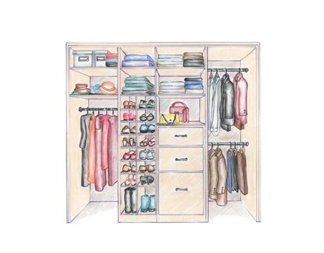 460x360 Design Your Closet To Work For You Custom Closets Direct