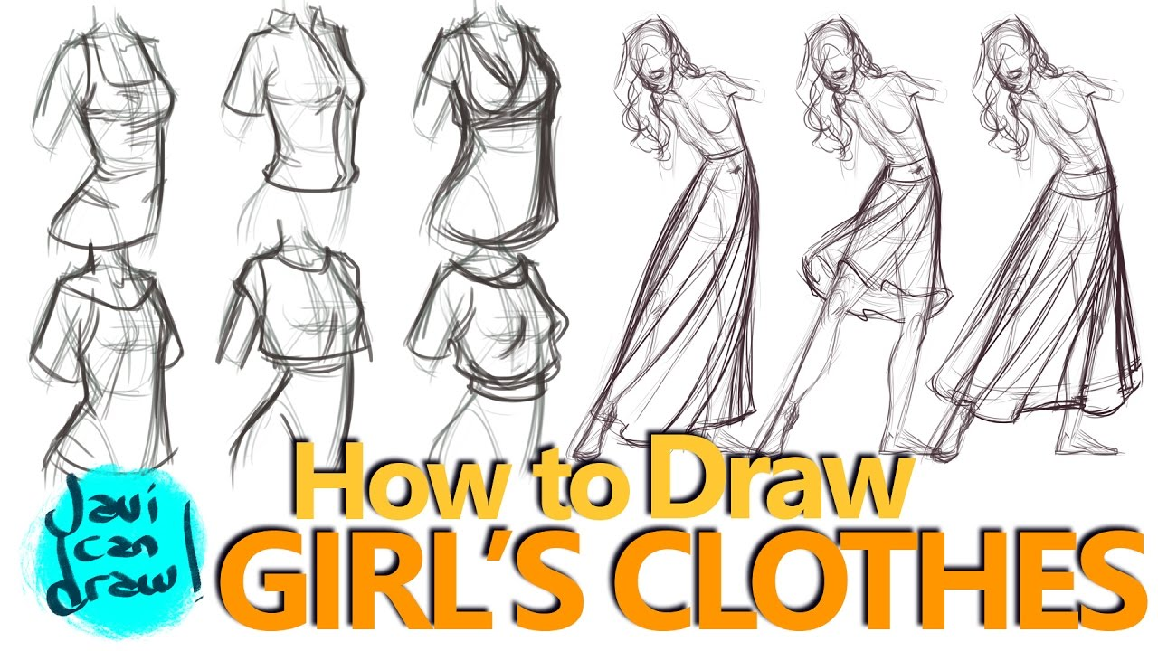 1280x720 How I Taught Myself To Draw Female Clothes