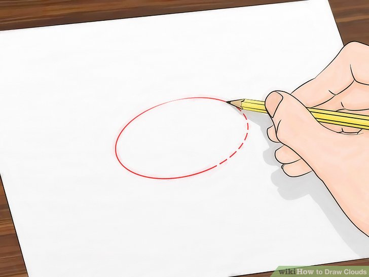 728x546 How To Draw Clouds 11 Steps (With Pictures)