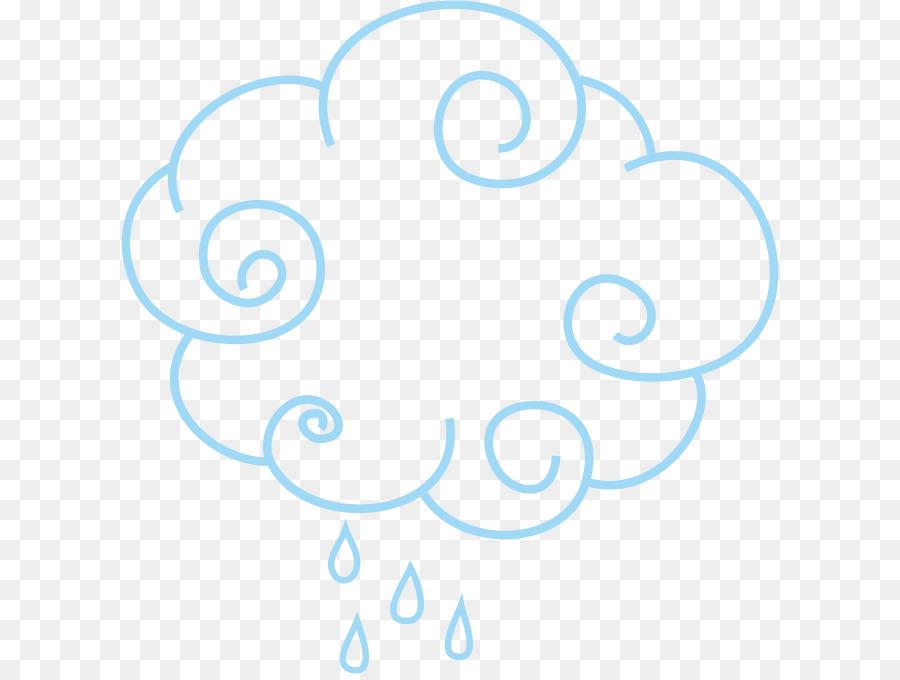 900x680 Cloud Drawing Rain